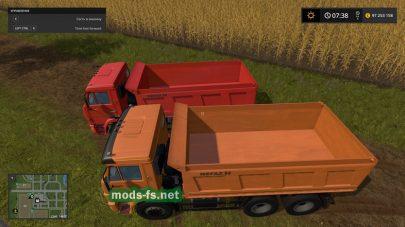 Скриншот мода «КамАЗ-65115»