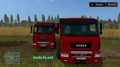 Скриншот мода «kamaz-6520»