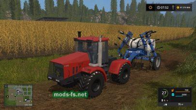 Трактор КировецK-744 P3 в игре Farming Simulator 2017