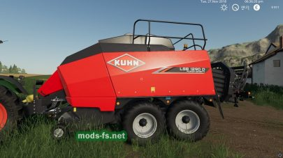 Kuhn LSB1290D для Farming Simulator 2019
