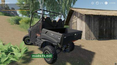 Мод квадроцикла для Farming Simulator 2019