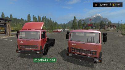 МАЗ-5432 для Farming Simulator 2017