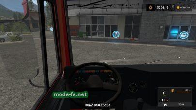 Скриншот мода «maz-5432»