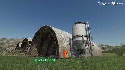 Модификация многоцелевого ангара