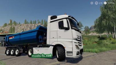 Мод на тягач MercedesActrosMP4