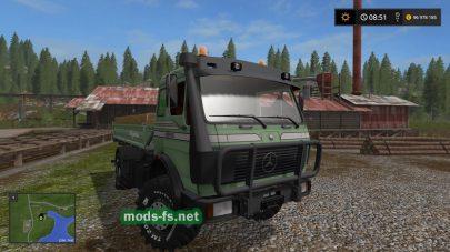 Мод Mercedes Benz Agrar для FS 17