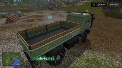 Скриншот мода «Mercedes Benz Agrar»