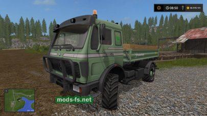 Модификация на грузовик Mercedes Benz