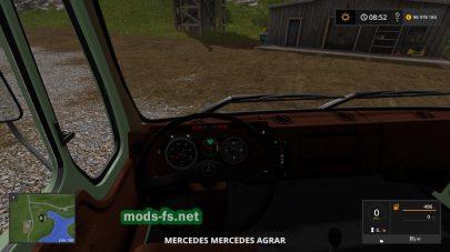 Mercedes Benz Agrar mod