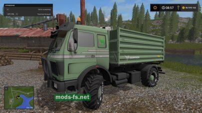 Проходимый грузовик в FS 17