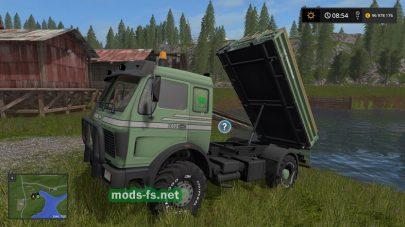 «Mercedes Benz Agrar» для FS 17