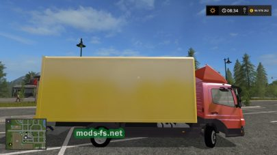 Мод на «Mercedes Benz Atego 818 With Accessories»