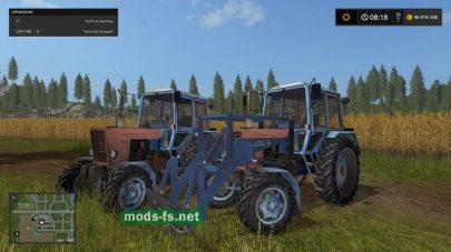 """Скриншот мода """"MTZ 100 More Realistic"""""""