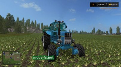 MTZ-82 v1.0 для игры Farming Simulator 2017