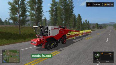 Lexion700 для Farming Simulator 2017