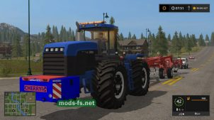 Мод трактора New Holland 9882