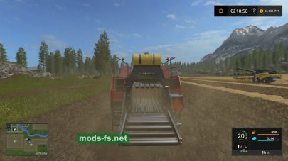 Мод «New Holland BB960A American» для FS 17