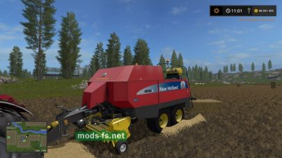 Мод тюкопресса New Holland BB960A