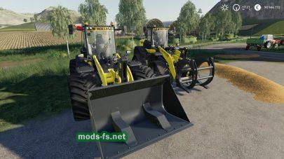 New Holland W190d mod FS 2019