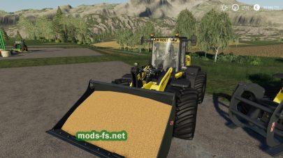 Гусеничный трактор с отвалом для FS 2019