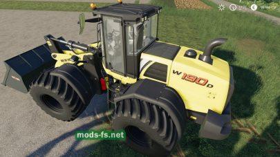 Мод трактора New Holland W190d