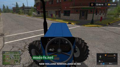 «New Holland 55 56S» для FS 2017