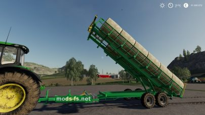 LoadersTransportersRolls для Farming Simulator 2019