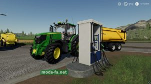 """Placeable Gas Station"" для FS 19"