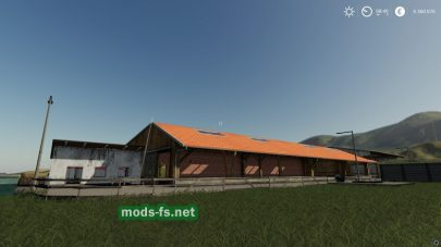 Коровник для Farming Simulator 2019