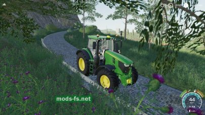 «Real Engine Braking Effect» mod FS 19