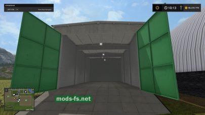 Объект «Гараж» в игре FS 2017
