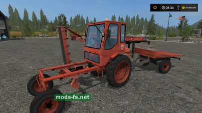 Т-16М в игре Farming Simulator 2017