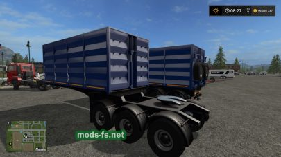 Прицеп Тонар-95411 в игре FS 17
