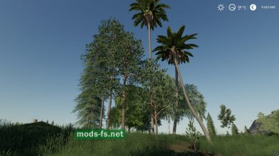 Trees Placeable для FS 19