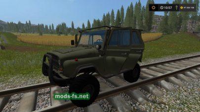 uaz-31519 mods