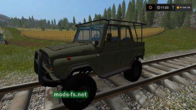 Скриншот мода «УАЗ-31519»