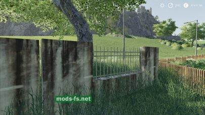 Мод на забор для Farming Simulator 2019