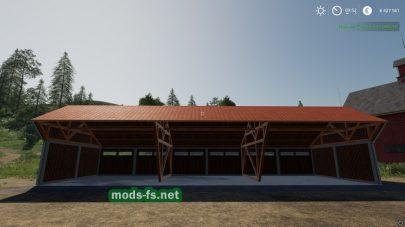 Мод на навес WoodShed