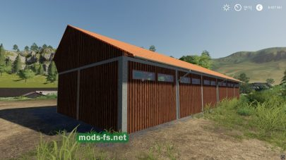 Wood Shed для Farming Simulator 2019