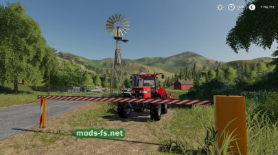 """Automatic Barrier"" для Farming Simulator 2019"