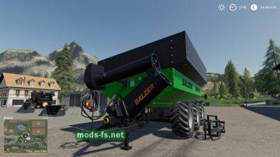 Balzer2000GrainCartдля Farming Simulator 2019