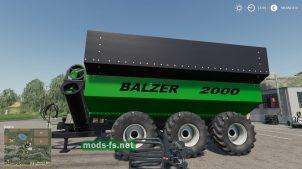 Мод на прицеп Balzer2000GrainCart