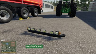 """Bumper Lights"" mods FS 19"
