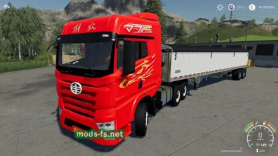 «China Faw J7 6×4» mods