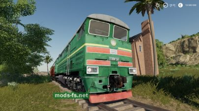 """DieselLocomotive"" для Farming Simulator 2019"