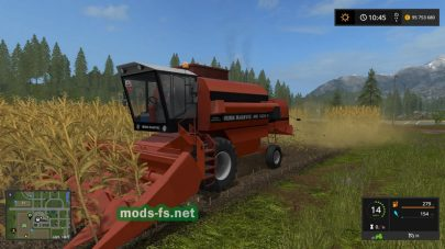 Duro Dakovic MK1620H для Farming Simulator 2017