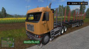 "Скриншот мода ""FreightlinerArgosy"""