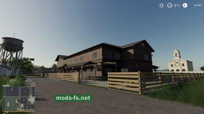Скриншот игровой карты «HoneyDewFarms»
