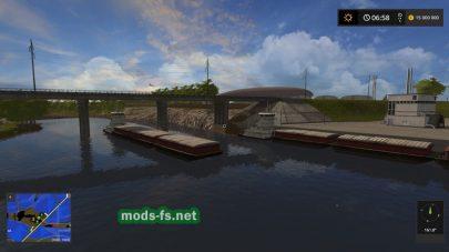 Речка на игровой карте «MissouriRiverBottoms»