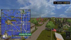 Схема карты «MissouriRiverBottoms»